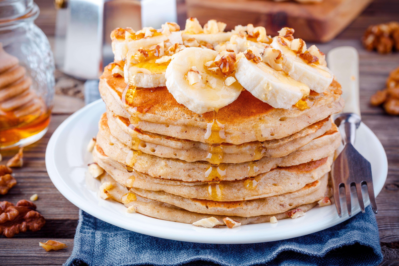 Pancake alCaramello Salatoe Banana